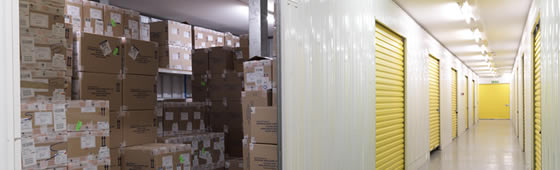 Rent Commercial Storage from Big Yellow
