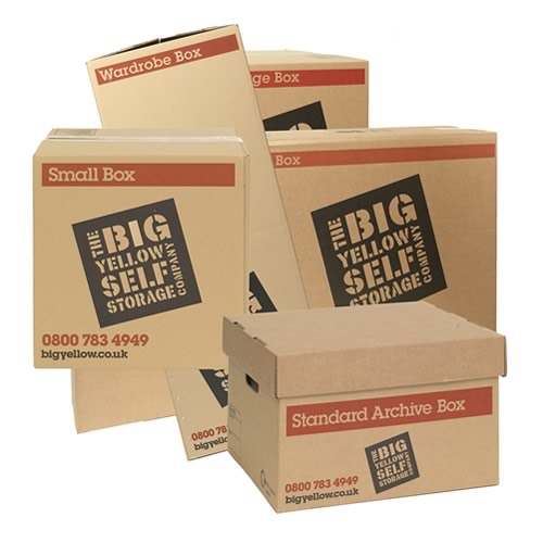 981fcecf207 Box Shop from Big Yellow Self Storage. Buy cardboard boxes   packing  supplies online.