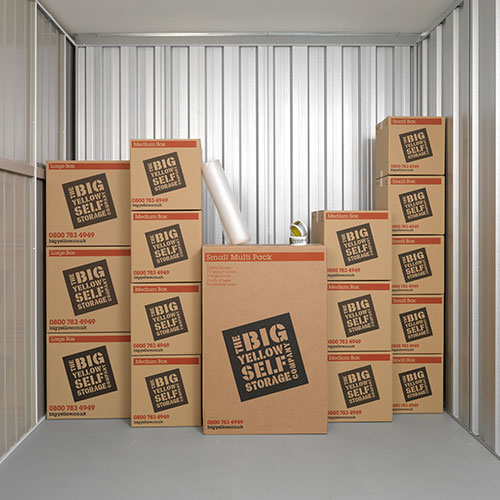 From Big Yellow Self Storage Buy Cardboard Boxes
