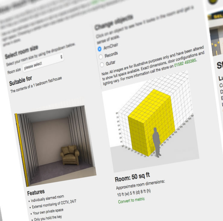 e667b59a445eb2 Big Yellow Self Storage  Storage rooms across the UK   London.