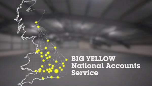 Big Yellow National Accounts Service