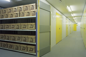 Archiving storage facility from Big Yellow Self Storage