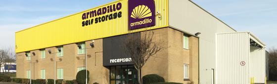A Armadillo Self Storage Five Lamps storage fro...