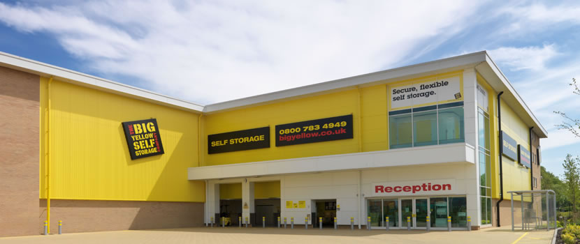Birmingham & Reserve storage space in from Big Yellow: self storage units in for ...