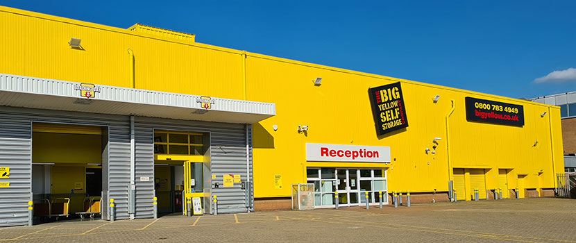Reserve storage space in from Big Yellow self storage units in for personal and business storage. & Reserve storage space in from Big Yellow: self storage units in for ...