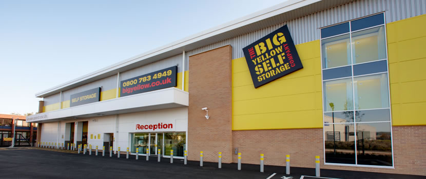 Self Storage Prices From Big Yellow Get A Quote For Self