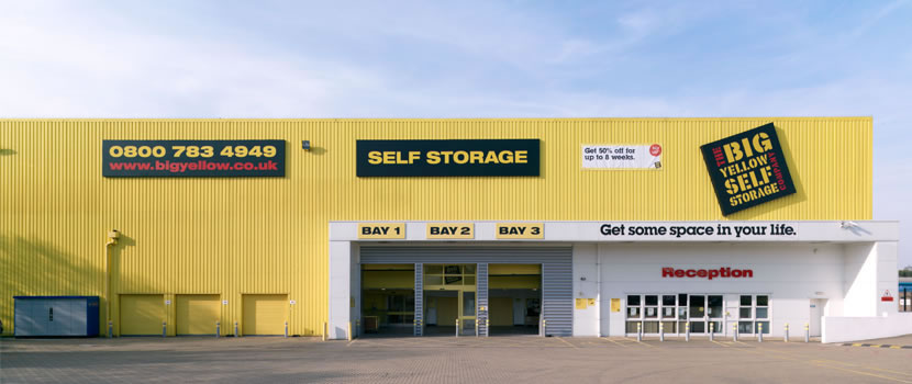 personal storage from big yellow self storage space autos post. Black Bedroom Furniture Sets. Home Design Ideas