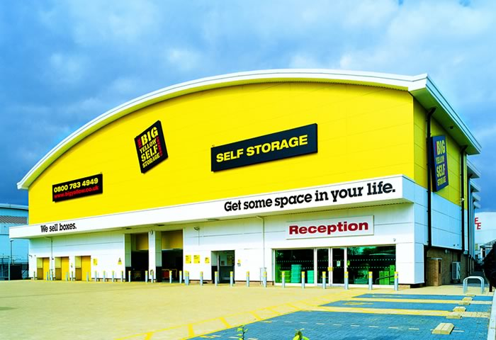 beckton self storage beckton storage big yellow. Black Bedroom Furniture Sets. Home Design Ideas