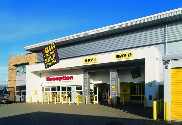 guildford slyfield self storage big yellow storage. Black Bedroom Furniture Sets. Home Design Ideas