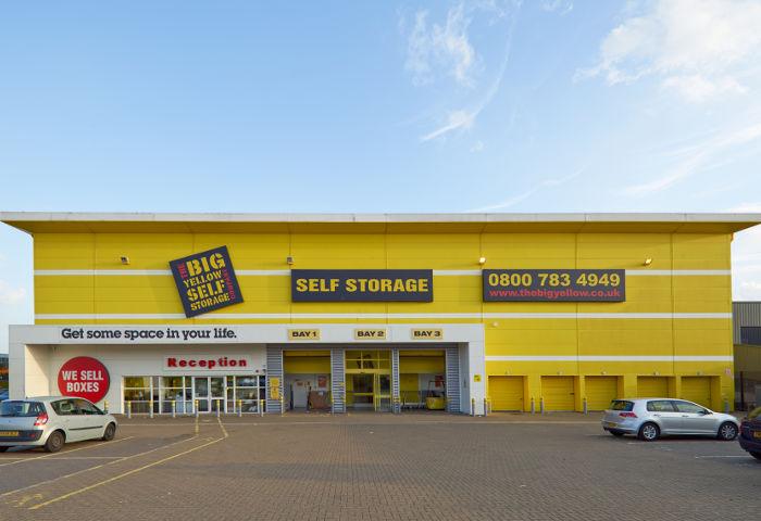 upminster self storage upminster storage big yellow. Black Bedroom Furniture Sets. Home Design Ideas